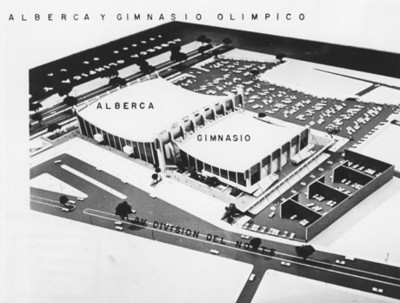 Diseño de la Alberca y Gimnasio Olimpico