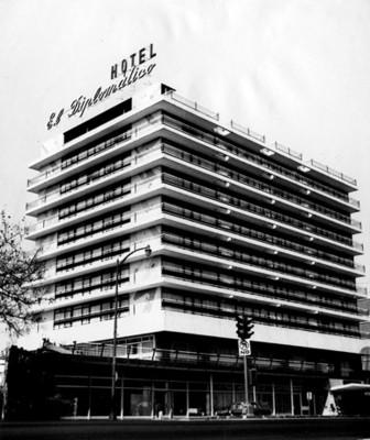 """""""Hotel El Diplomático"""", Fachada"""