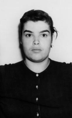 Mujer comunista, retrato