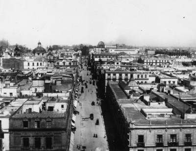 Ciudad de México, vista parcial