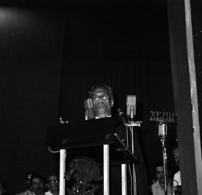 Gustavo Díaz Ordaz brinda discurso en evento de la CNC