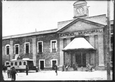 """Cárcel de Belém"", fachada, vista parcial"