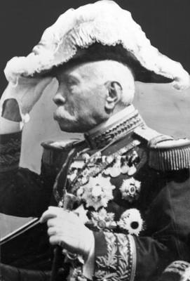 General Porfirio Díaz de uniforme militar