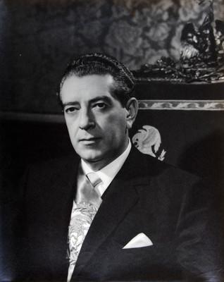 Presidente de la República Mexicana Lic. Adolfo López Mateos, retrato