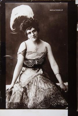 María caballe, retrato