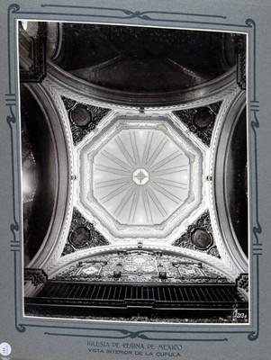 Bóveda del coro, interior cúpula, interior