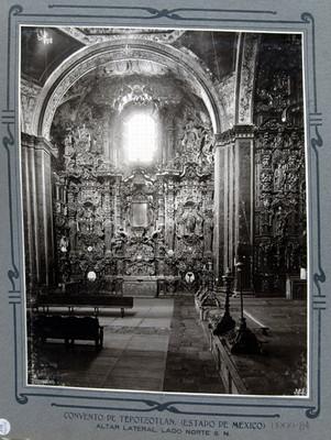 Altar lateral lado norte