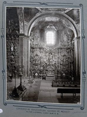Altar lateral lado sur