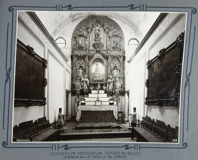 Altar de la capilla de Loreto
