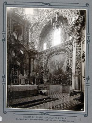 Capilla del Rosario altar