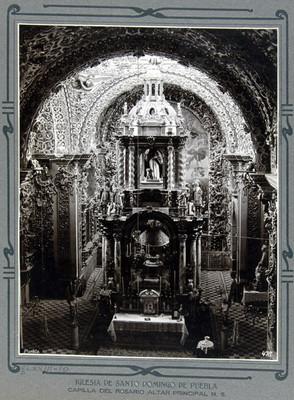 Capilla del Rosario, altar mayor