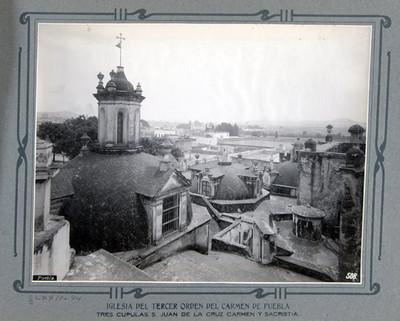 Cúpulas, San Juan de la Cruz Carmen y Sacristía