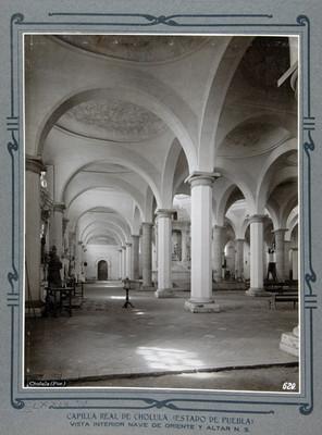 Interior nave de oriente y altar N.D.