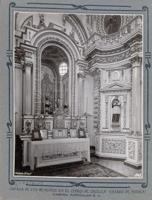Camerino, vista de un altar