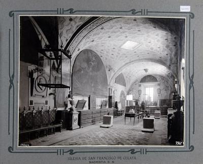 Sacristía de la iglesia de San Francisco en Celaya, vista general