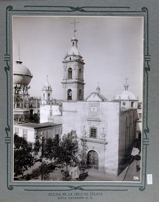 Iglesia de la Cruz en Celaya, vista exterior