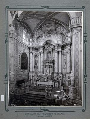 Altar mayor de la Iglesia de San Francisco en Celaya