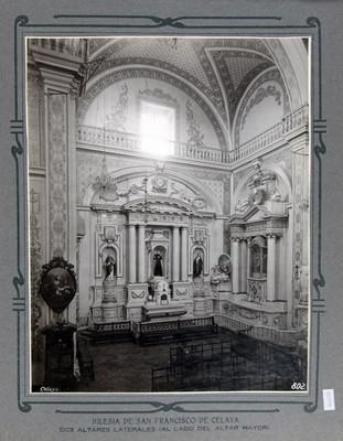 Altares laterales en la Iglesia de San Francisco