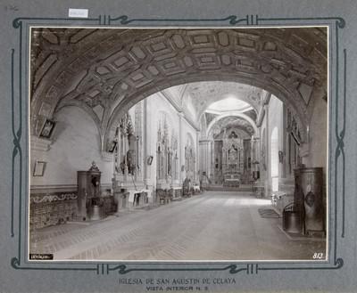 Bóveda del Sotocoro y vista hacia el Altar Mayor