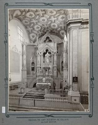 Vista del Altar Mayor de la Iglesia de San Agustín