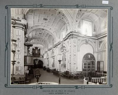 Vista del Crucero y Altares de la Epístola, Iglesia de la Cruz