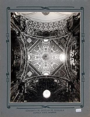 Vista interior de la cúpula de la Iglesia de Nuestra Señora de Ocotlán
