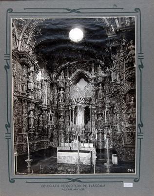 Altar mayor de la Iglesia de Nuestra Señora de Ocotlán