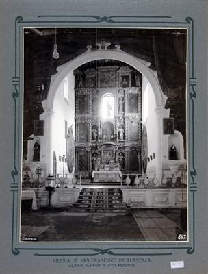 Altar Mayor de la Iglesia de San Francisco