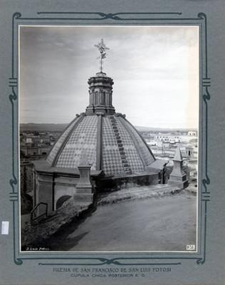 Vista exterior de la Cúpula chica de la Iglesia de San Francisco