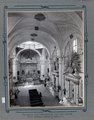 Altar Mayor y Nave Principal, vista desde el coro