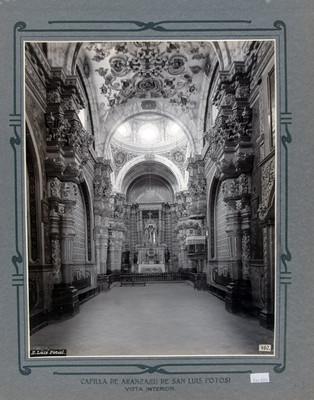 Altar Mayor de la Capilla de Aranzazú