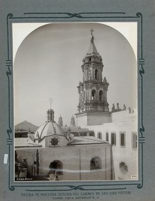 Vista de la Torre y la Cúpula, Iglesia de Nuestra Señora del Carmen