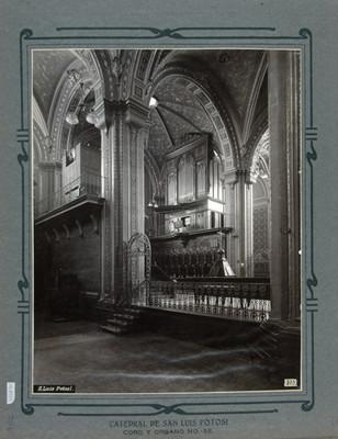 Órgano y Coro de la Catedral de San Luis Potosí
