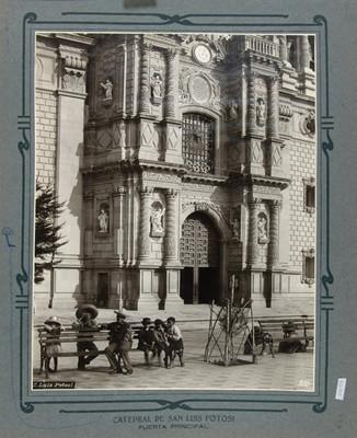 Detalle de la Portada principal de la Catedral de San Luis Potosí