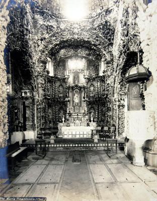 "Iglesia de ""Sta. María Tonantzintla (Chol.) [sic]"", altar mayor"