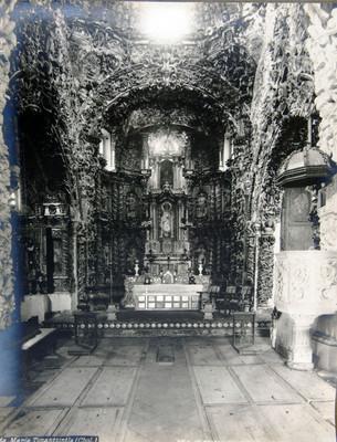 Iglesia de Santa María Tonantzintla, altar mayor