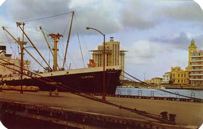 Malecón del puerto de Veracruz