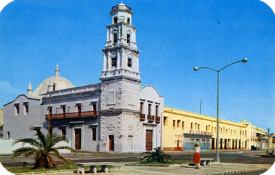 Catedral, vista parcial, tarjeta postal