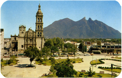Catedral de Monterrey siglo XVIV