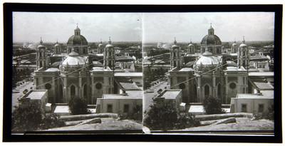 La Basílica de Guadalupe vista por el cerrito