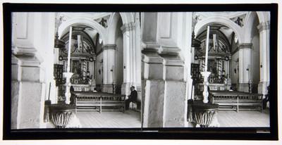 """""""Capilla del Cerrito en Guadalupe"""", vista interior"""