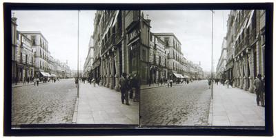 Calle del 5 de Mayo y Teatro Nacional