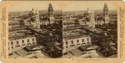 """Veracruz, desde la torre del faro, """"Veracruz from the Light-house tower"""""""