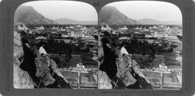 Vista de Orizaba, Orizaba, amidst fertil plains and gigantic mountains