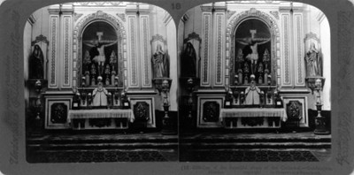"""Un altar de la catedral de Guadalajara. """"one of the beautiful altars of the cathedral- Guadalajara"""""""