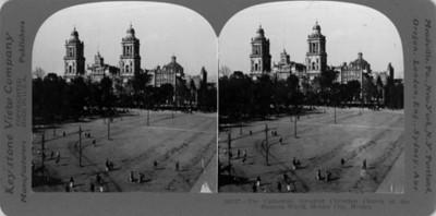 Vista de la Catedral de México