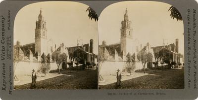 Vista de la Catedral de Cuernavaca