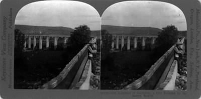 Vista del Acueducto de Querétaro
