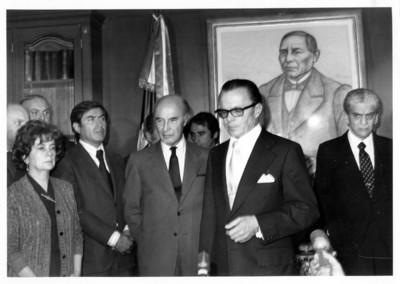 Emilio García Robles recibe el cargo como Secretario de Relaciones Exteriores