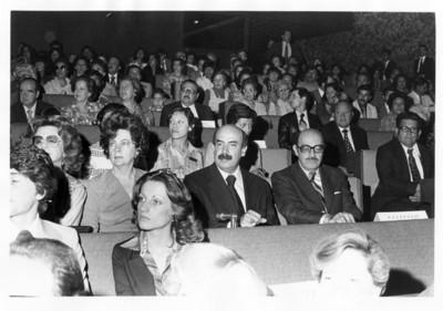 Silvia Klee, María Emilia Téllez, José Juan de Olloqui y Luis de la Hidalga durante concierto presentado en la SRE